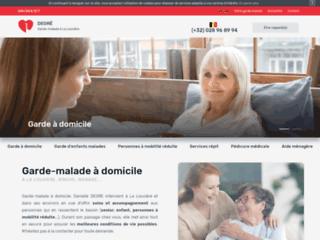 Garde-malade à domicile à La Louvière