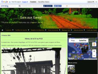 Gare aux Gares ! Photos Trains Histoires du chemin de fer !