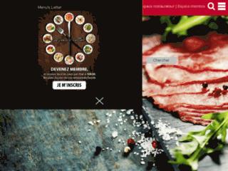 Détails : Les restaurants du Luxembourg