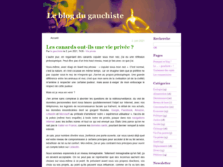 Le blog du gauchiste