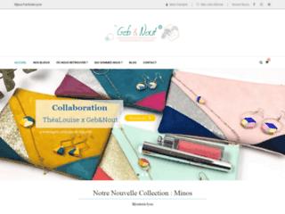 Détails : Geb&Nout : createur bijoux fantaisie colorés lyon Oullins