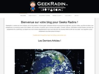 Geek Radin : blog high-tech et informatique