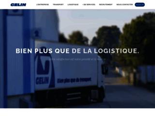 Détails : Gelin - Spécialiste des activités de transport et de logistique