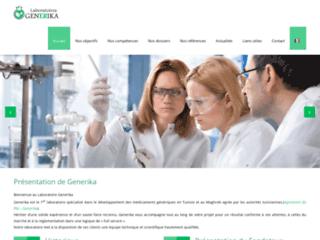 Détails : Laboratoire Generika: médicaments génériques