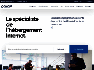 Hébergement web au Maroc par Genious Communications