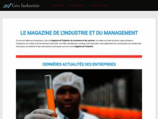 Détails : Geo-Industrie : Magazine du management industriel en France