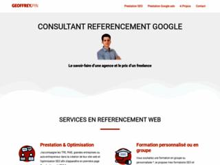 consultant référencement Google et SEO à Paris