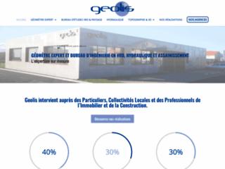 Détails : Géolis,  cabinet d'urbanistes et géomètres experts