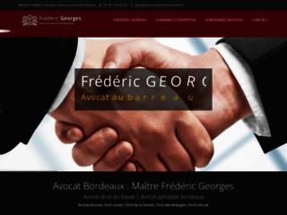 Frédéric GEORGES : avocat à Bordeaux