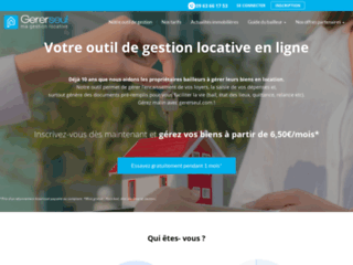 Détails : Gererseul, votre outil de gestion locative en ligne