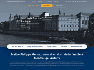 Maître Philippe Gernez, avocat en droit pénal à Montrouge, Antony