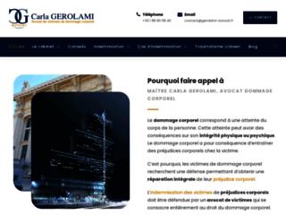 Détails : Avocat indemnisation dommage corporel
