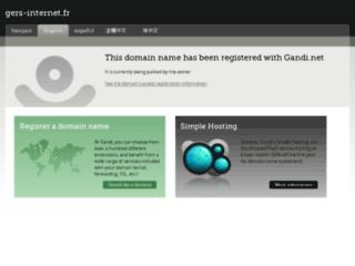 Détails : Gers-internet.fr: webmaster dans le Gers proche de Toulouse