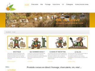 Détails : GIE du Taravu, produits corses en ligne