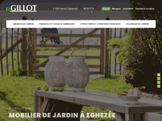 Détails : Magasin de meubles de jardin - Gillot