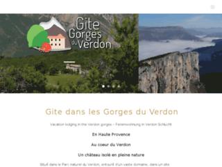 Détails : Gite dans les Gorges du Verdon
