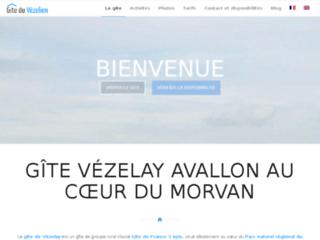 Détails : Gite rural du Vézelien pour les groupes de randonneurs