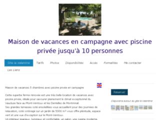 Détails : Gîte en Provence : Location avec piscine