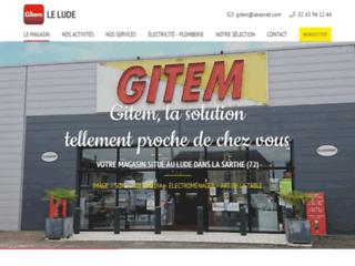 Gitem Electroménager et Multimédia au Lude dans la Sarthe