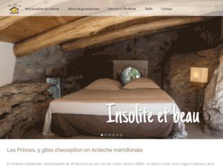 Détails : Location en Ardèche avec piscine dans les bois