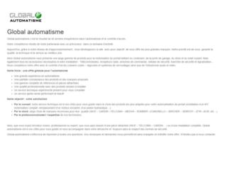Site officiel de Global Automatisme