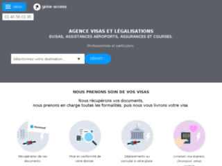 Agence Visa Paris Globe Access