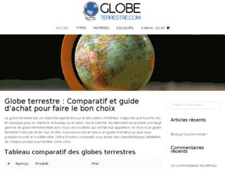 Comparatif et guide d'achat du globe terrestre