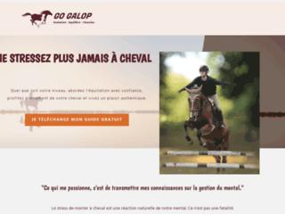 GO GALOP - Évolution - Équilibre - Réussite