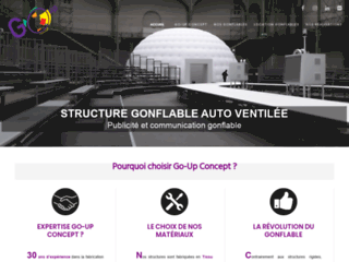 Détails : Arche gonflable