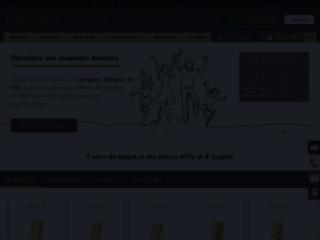 Détails : Achat et Vente d'Or - Cours et prix de l'Or
