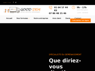 Gooddem, entreprise de déménagement dans l'Essonne