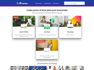 GoPromos.fr : le site de codes promo