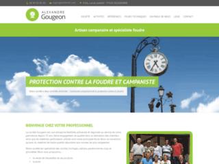 Campanaire : cloche, parafoudre et horloge, GOUGEON SAS