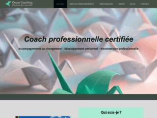 Coach certifiée en développement personnel et vie professionnelle
