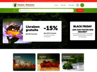 Détails : Graines de fleurs et de légumes à semer et cultiver