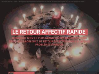 LE RETOUR AFFECTIF RAPIDE