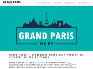 Détails : Pourquoi investir dans le neuf sur le Grand Paris ? Eléments de réponse.