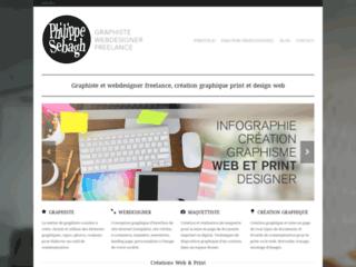 Détails : Philippe Sebagh, graphiste et webdesigner freelance