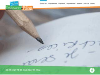 Détails : Graphothérapie et graphologie à Aix en Provence