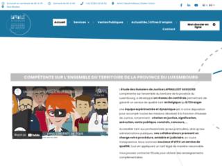 Détails : Étude de l'huissier de justice Graulich