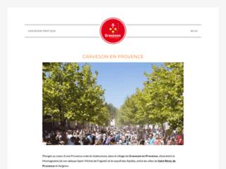 Venez découvrir le village de Graveson en Provence