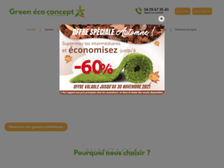 Détails : Green Eco Concept – Gazon artificiel