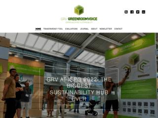 Greenroom Voice : le spécialiste de la communication responsable par l'étude des performances de l'environnement