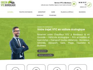 Votre compagnie de transport VTC à Bordeaux