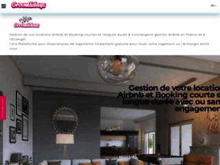 Détails : Groomlidays annonces de locations de vacances, conciergerie locations saisonnières, échanges de maisons