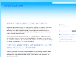 Détails : Grouplabs: Agence interactive de communication