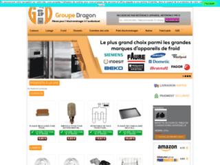 Groupe-Dragon - Pièces détachées électroménager