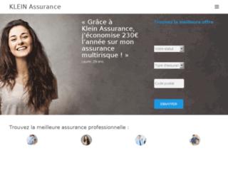 Klein Assurances, toutes les assurances pour professionnels sur un seul site