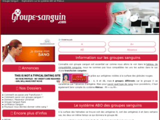 Groupe Sanguin ABO