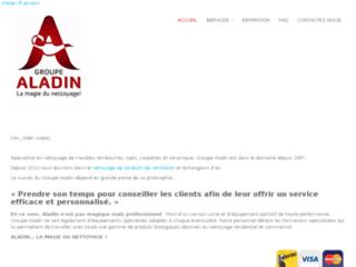 Nettoyage de conduit de ventilation - Groupe Aladin